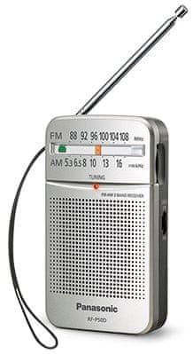 Panasonic RF-P50DEG stříbrná