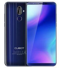 Cubot smartfon X18 PLUS, Dual SIM, LTE, 64 GB, 4 GB RAM, niebieski