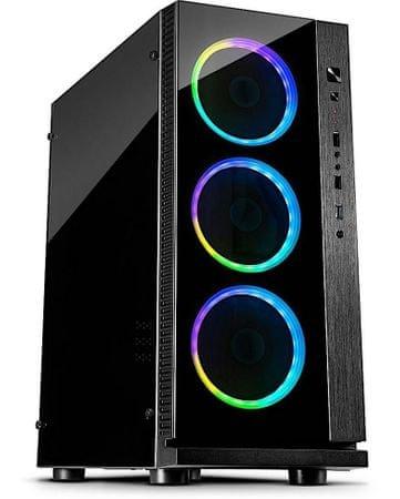 Inter-tech gaming ohišje W-III RGB, ATX