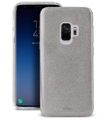 Puro ovitek Shine za Samsung Galaxy S9, srebrn
