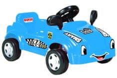 DOLU Velké šlapací auto s klaksonem, modré