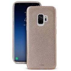 Puro ovitek Shine za Samsung Galaxy S9, zlat