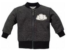PINOKIO Dětský kabátek Happy day - tmavě šedý