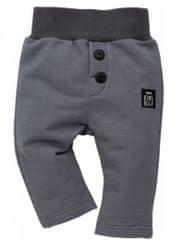 PINOKIO Dětské kalhoty Happy day - šedé