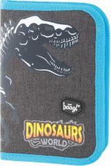 BAAGL Klasszikus iskolai tolltartó,  Dinoszaurusz motívummal