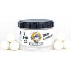 Imperial Baits Impeiral Baits Plovoucí Boilies Carptrack V-Pops Bílé 60 g