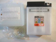 Fiamm Moto akumulator, 6V, 13 Ah, B38-6A