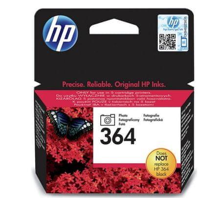 HP 364 Fotótintapatron, Fekete (CB317EE)