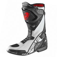 Held motocyklové boty EPCO 2 černá/bílá, kůže
