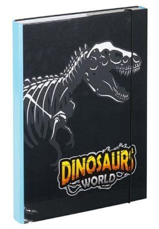 BAAGL Füzetbox A4 Dinoszaurusz