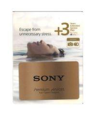 Sony podaljšanje garancije za fotoaparat Alpha, 3 leta (ILCKITBOX3E)