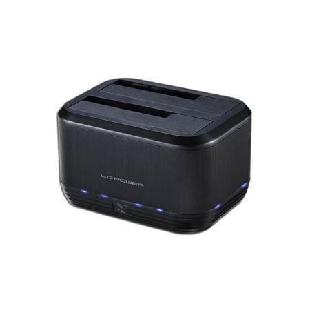 LC Power priklopna postaja za trde diske LC-DOCK-U3-III USB3.0 2x2,5/3,5