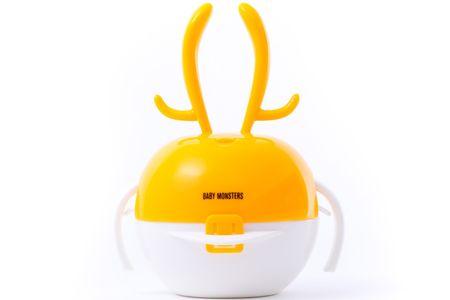 Baby Monsters Jedálenský set Jeleň 12m+, oranžová