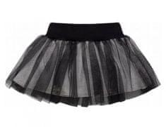 PINOKIO Dívčí sukně Happy day - černá