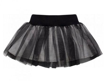 PINOKIO Dívčí sukně Happy day - černá 92