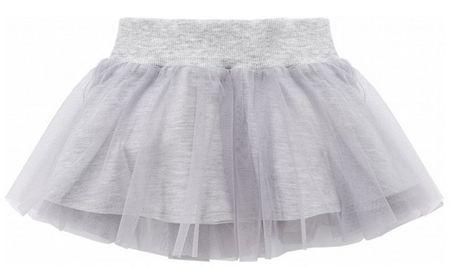 PINOKIO Dívčí sukně Happy day - šedá 104