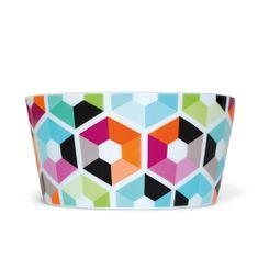 REMEMBER® Müsli miska porcelánová Hexagon, 0,45 l