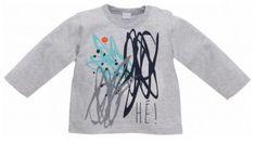 PINOKIO Chlapecké tričko Xavier - šedé