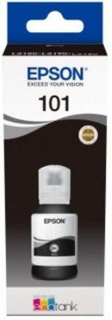 Epson EcoTank 101 črnilo, steklenička, črna (C13T03V14A)