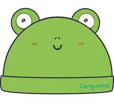 Cangurino chlapčenská čiapka Žabička