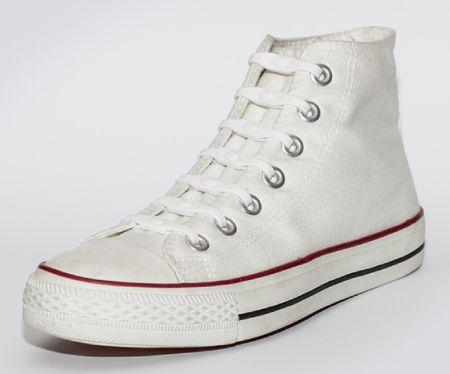 Shoeps Silikonowe sznurowadła do butów White