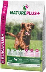 Eukanuba Nature Plus+ Puppy & Junior Rich jagnięcina 2,3kg