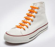 Shoeps Šnúrky oranžové - orange dutch