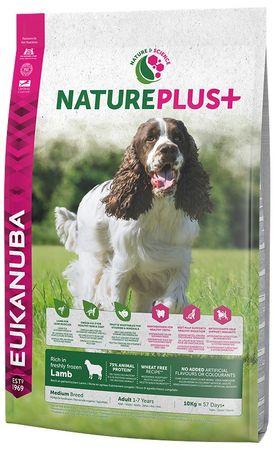 Eukanuba Nature Plus+ Adult Medium Breed Rich jagnięcina 10kg
