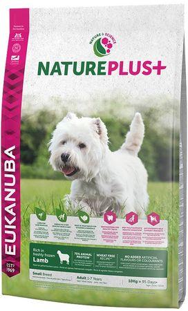 Eukanuba Nature Plus+ Adult Small Breed Rich jagnięcina 10kg