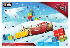Mattel Cars 3 Adventi naptár
