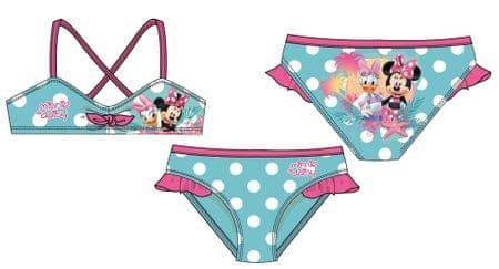 09657366d4 Disney by Arnetta dívčí plavky Minnie 98 tyrkysová