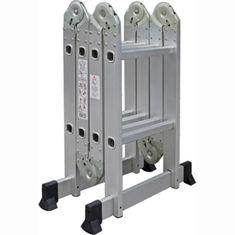 Tark Četverodijelne aluminijske ljestve DLM102, 2.4m