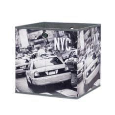 FARELA Úložný box Beta 1, 32 cm, NY Taxi