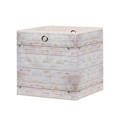 FARELA Úložný box Beta 1, 32 cm, Wood 2