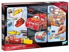 Disney zestaw kreatywny 3 w 1 Cars 3