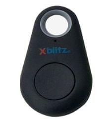 XBlitz Kľúčenka / prívesok proti krádeži X-Finder, čierna