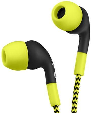 Niceboy športne slušalke Hive WE1, rumene