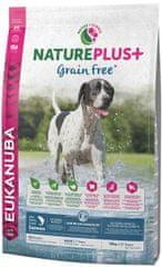 Eukanuba sucha karma dla psa Nature Plus+ Adult Grain Free Salmon 10kg