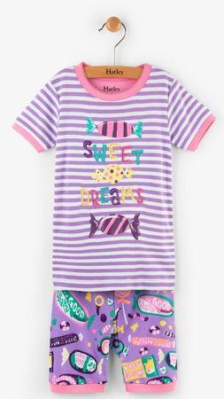 Hatley Dívčí letní pyžamo s bonbóny - barevné, 98 cm