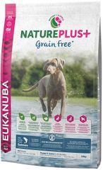 Eukanuba sucha karma dla szczeniąt Nature Plus+ Puppy Grain Free Salmon 10kg