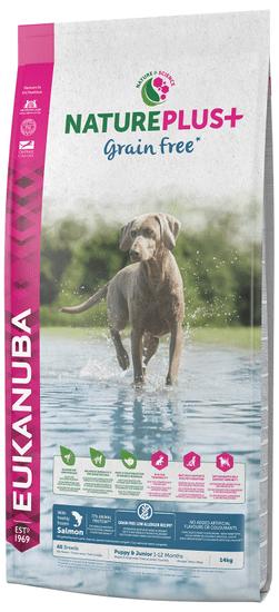 Eukanuba Nature Plus+ Puppy Grain Free Salmon 14kg