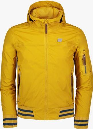 Nordblanc chlapecká nepromokavá bunda Genteel 122/128 žlutá