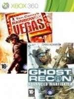 Tom Clancys Rainbow Six: Vegas 2 + Ghost Recon: Advanced Warfighter 2 (X360)