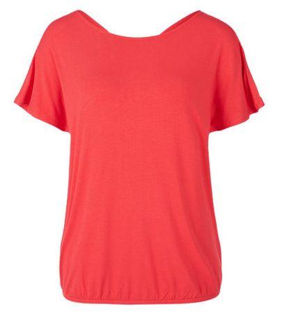 s.Oliver női póló 38 piros
