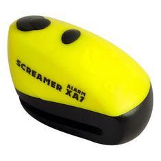 Oxford ključavnica z alarmom ScreamerXA7, rumena/črna