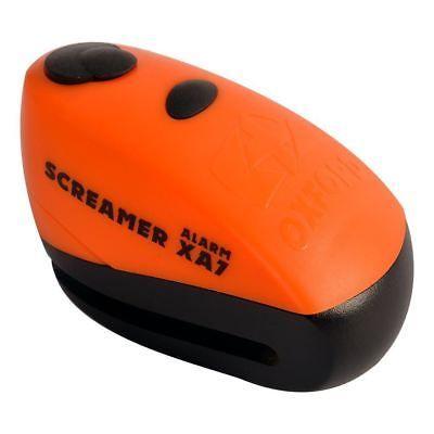 Oxford ključavnica z alarmom ScreamerXA7, oranžna/črna