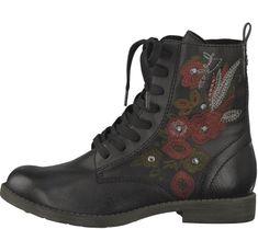 Tamaris Dámská kotníčková obuv, černá, vel. 39 - rozbaleno