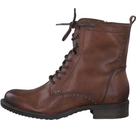 Tamaris dámská kotníčková obuv 41 hnědá