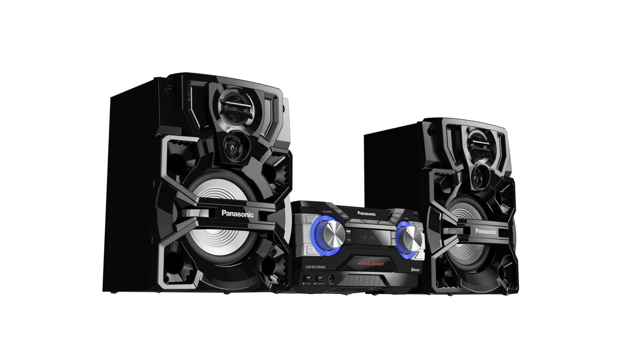 Mini rendszer Panasonic SC-AKX660E-K ekvalizer előre kiválasztott zenei műfajok