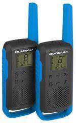 Motorola radijska postaja Walkie Talkie T62, modra